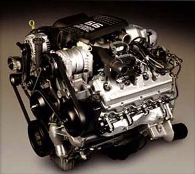 2001 Gmc diesel engine